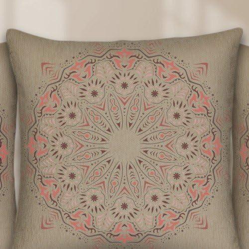 Dise/ño 48 x 48 cm Stencil 50 x 50 cm TODO STENCIL Home Decor Roset/ón 014 Mandala Medidas