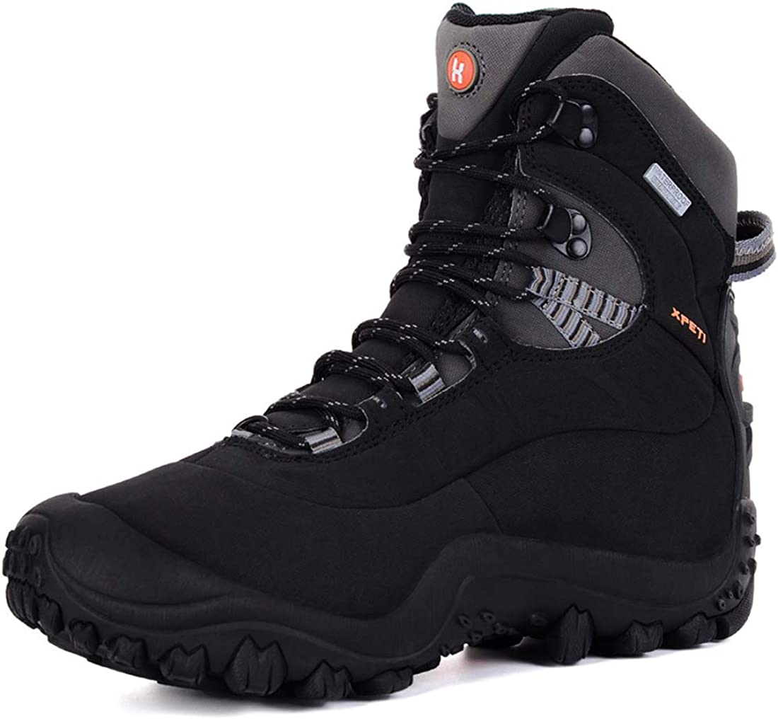 XPETI Women s Thermator Mid High-Top Waterproof Hiking Outdoor Boot