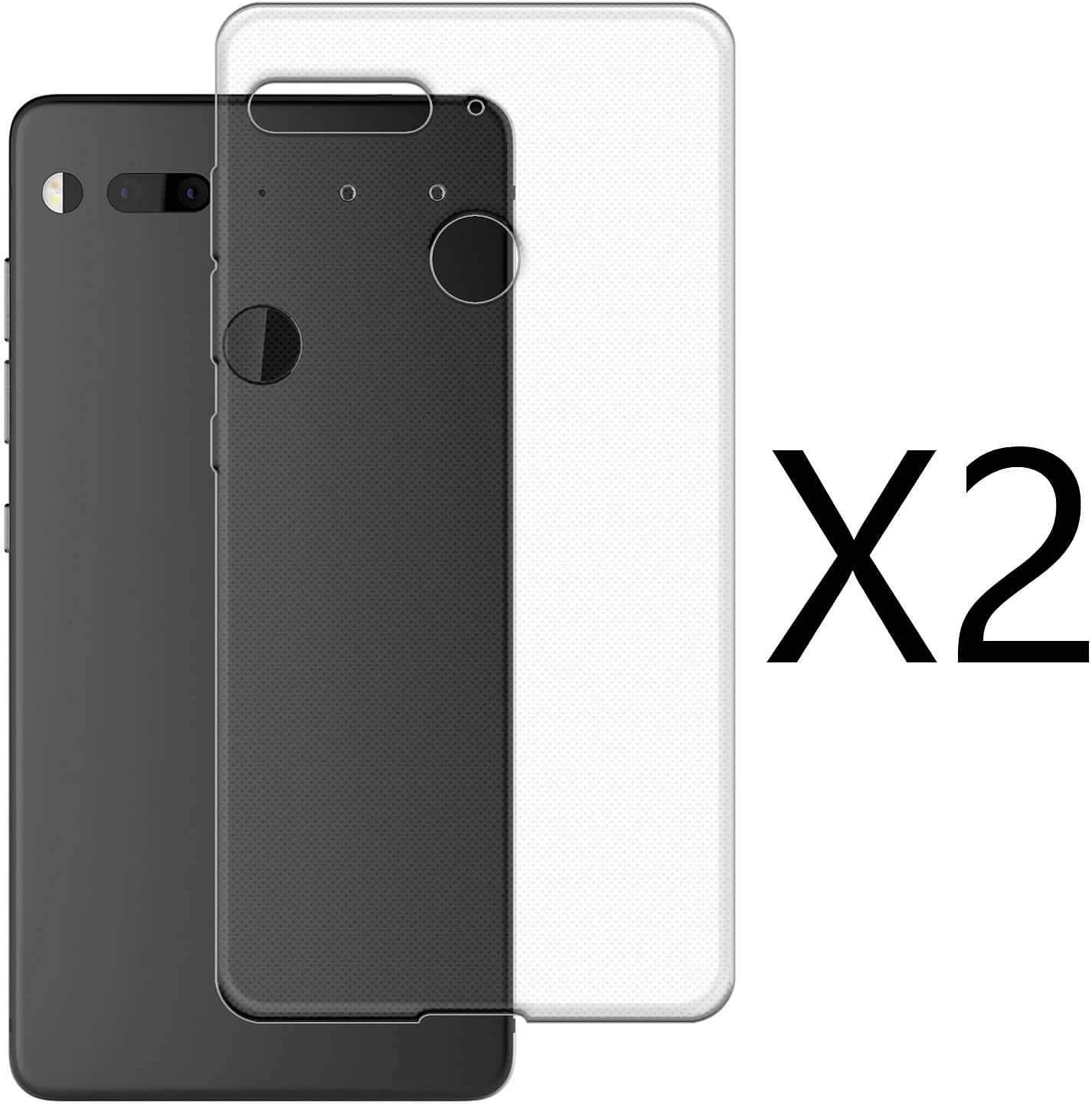 kaliter 2 X Funda Essential Phone PH-1,Suave Transparente TPU Gel ...