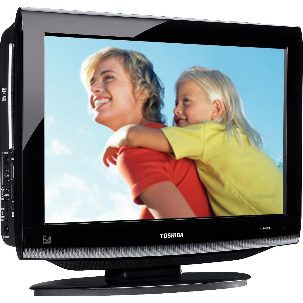 Amazon.com: Toshiba 19CV100U 19-Inch 720p LCD/DVD Combo TV (Black Gloss):  Electronics