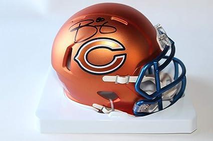 a2e18f44 Trey Burton Autographed Signed Riddell Bears Mini Blaze Speed Helmet - JSA  Authentic Memorabilia Autographed Signed