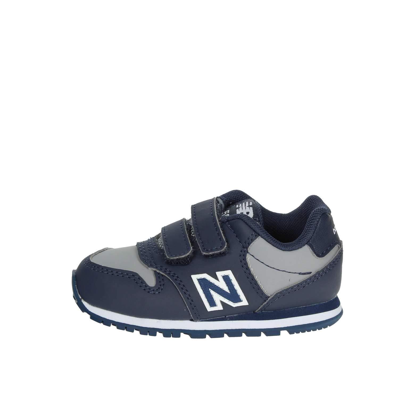Nueva Balance KV500 VBI Azul Gris Zapatos de beb/é Ganchos Zapatillas de Deporte
