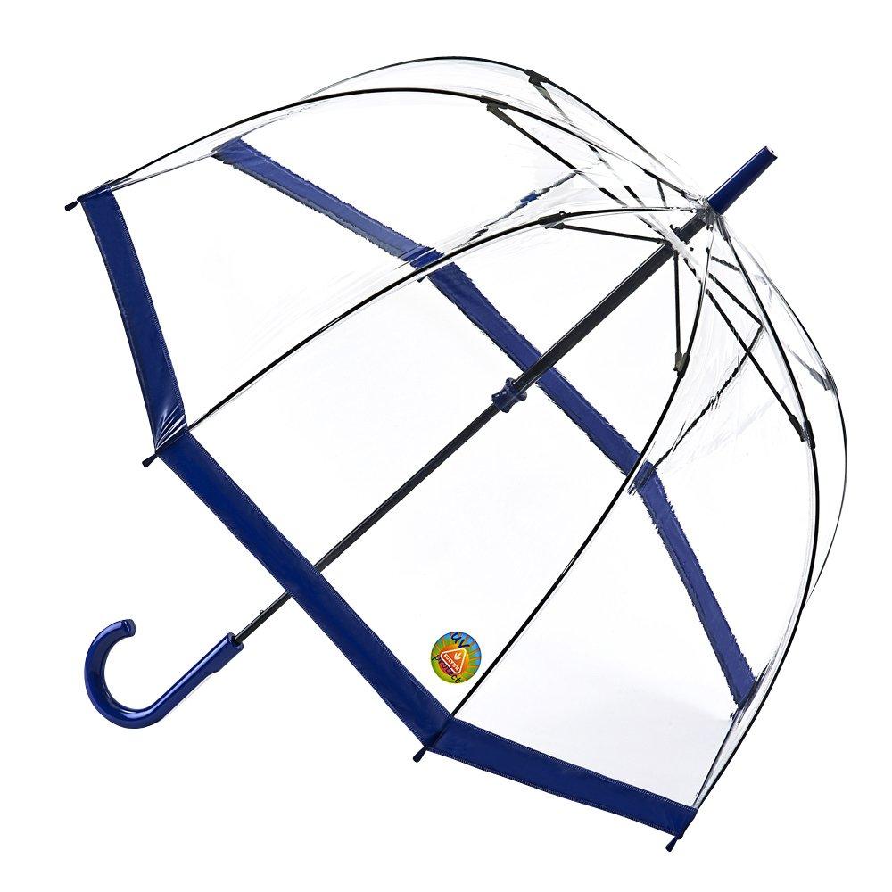 【正規輸入品】 フルトン バードケージ 1 UV 全4色 長傘 手開き 日傘/晴雨兼用 ネイビー 8本骨 60cm グラスファイバー骨 3194155 B010NQPO7Yネイビー