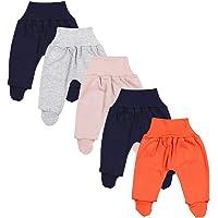 TupTam Pantalón con Pies de Bebé Pack de 5