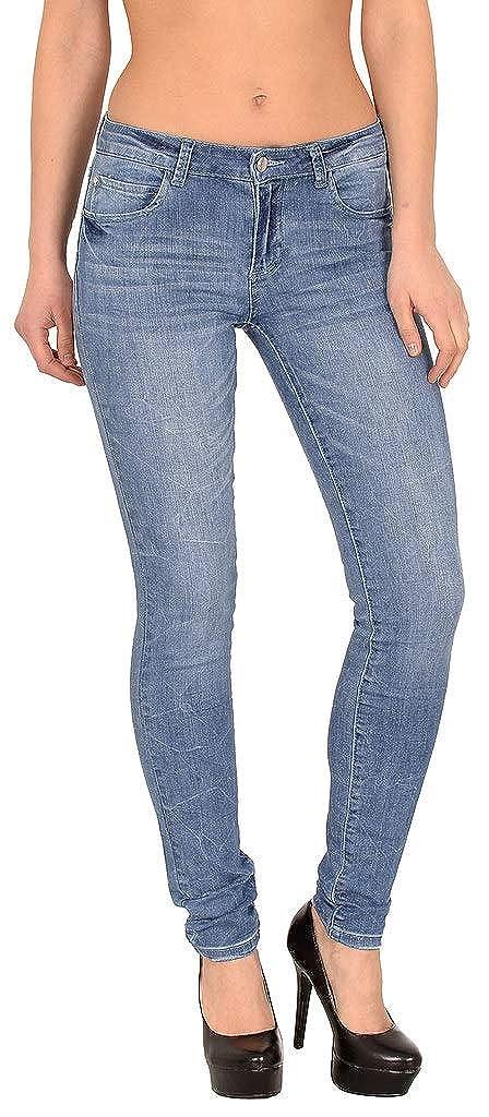 by Öko-Tex Mujer Tubo Mujer Vaqueros Mujer cadera Jeans ...