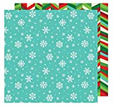All Wrapped Up Collection Christmas 12 X 12 Double Sided Paper Snowflakes (6 Pack)