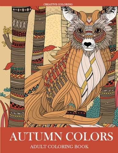 Autumn Colors: Adult Coloring Book (Autumn Colours)