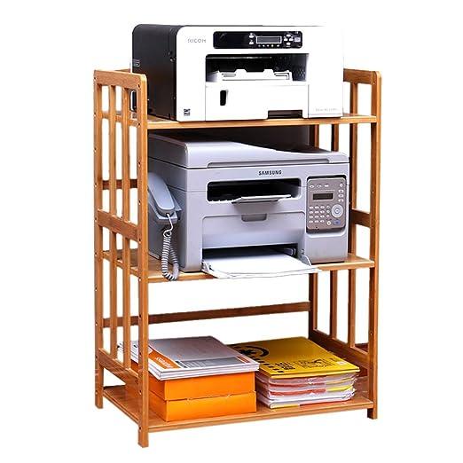 Estante De Impresora Copia De Oficina De Bambú De Moda ...