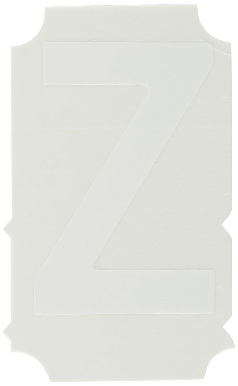 2 Height Quik-Align Labels 10 per Package Legend Z White Brady 5080-Z
