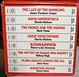Great Illustrated Classics (8 volume hardcover set...The Last of the Mohicans, David Copperfield, The Prince and the Pauper, Great Expectations, Kidnapped, The Mutiny on Board HMS Bounty, 20,000 Leagues Under the Sea and Robinson Crusoe.