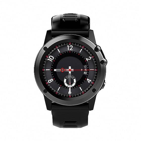 Docooler H1 JM01 Smartwatch Teléfono con Reloj 3G WCDMA Cámara de 5MP Wifi BT3.0 + 4.0 Impermeable GPS Frecuencia cardíaca del podómetro Monitor de ...