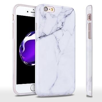 Leton Funda iphone 6s Carcasa iphone 6 Marmol TPU SIlicona ...