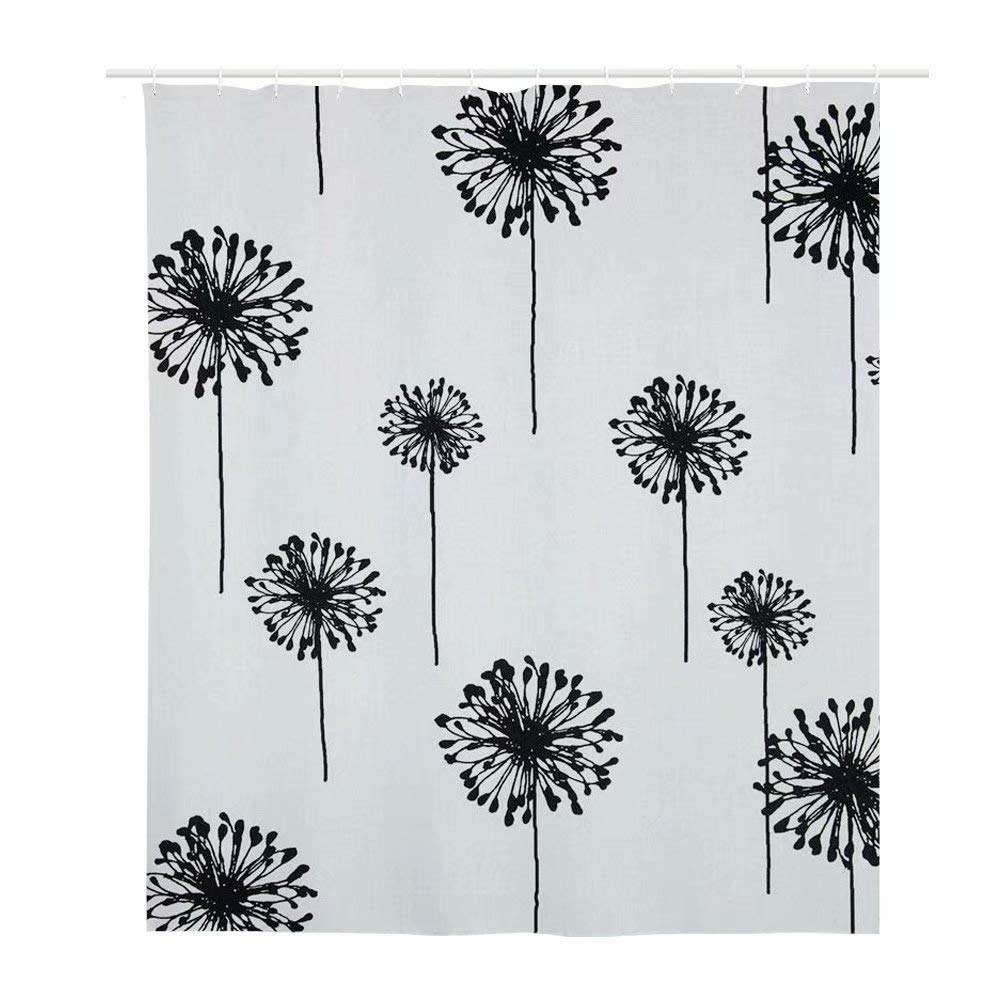 Dellukee Galaxy Shower Curtains Cactus Under The Starry Sky Theme Image Cute Beautiful Bathroom Decor Shower Curtain Set with Hooks 71 x 66 Inches JJ-YLFBA2-FG-HBC181888Z32