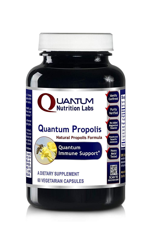 Quantum Propolis, 180 VCaps 3 Bottles - Natural Premier Labs Propolis Immune Formula for Quantum-State Immune Support
