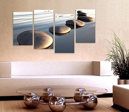 Stones - Quadro moderno su tela già intelaiato 152x78 cm quadri ...