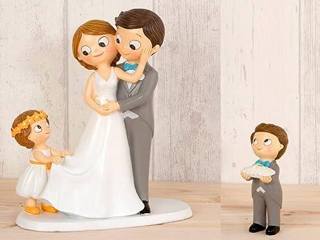 Hochzeitsfiguren torte mit kind