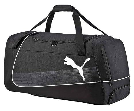 d82f88b489c05 Puma EvoPower Medium Wheel Bag Sporttasche Black 68 x 31.5 x 16 cm ...