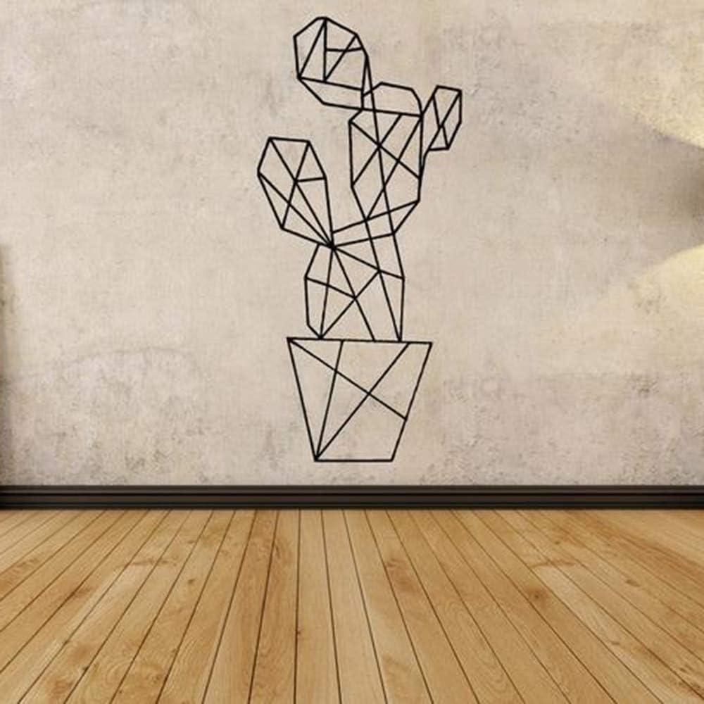 yaonuli Vinilo Mural Decoración del hogar Sala de Estar Patrón geométrico Etiqueta de la Pared Dormitorio Papel Pintado Decoración 57X73cm