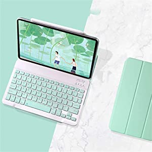 Trifold Keyboard Case for iPad Pro 12.9 inch Case 2021 (5th Gen) / 2020 (4th Gen),Double Sided Strong Magnetic Ultra Slim Detachable Keyboard for iPad Pro 12.9