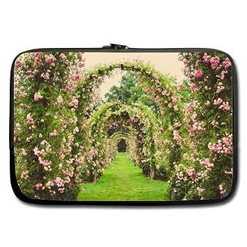 Barato y Nice funda para portátil de 17 rosa puerta (doble cara, sin correas): Amazon.es: Electrónica