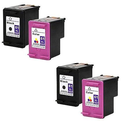 Eston valor Multipack # 61 x l B & C cartucho de tinta para HP ...