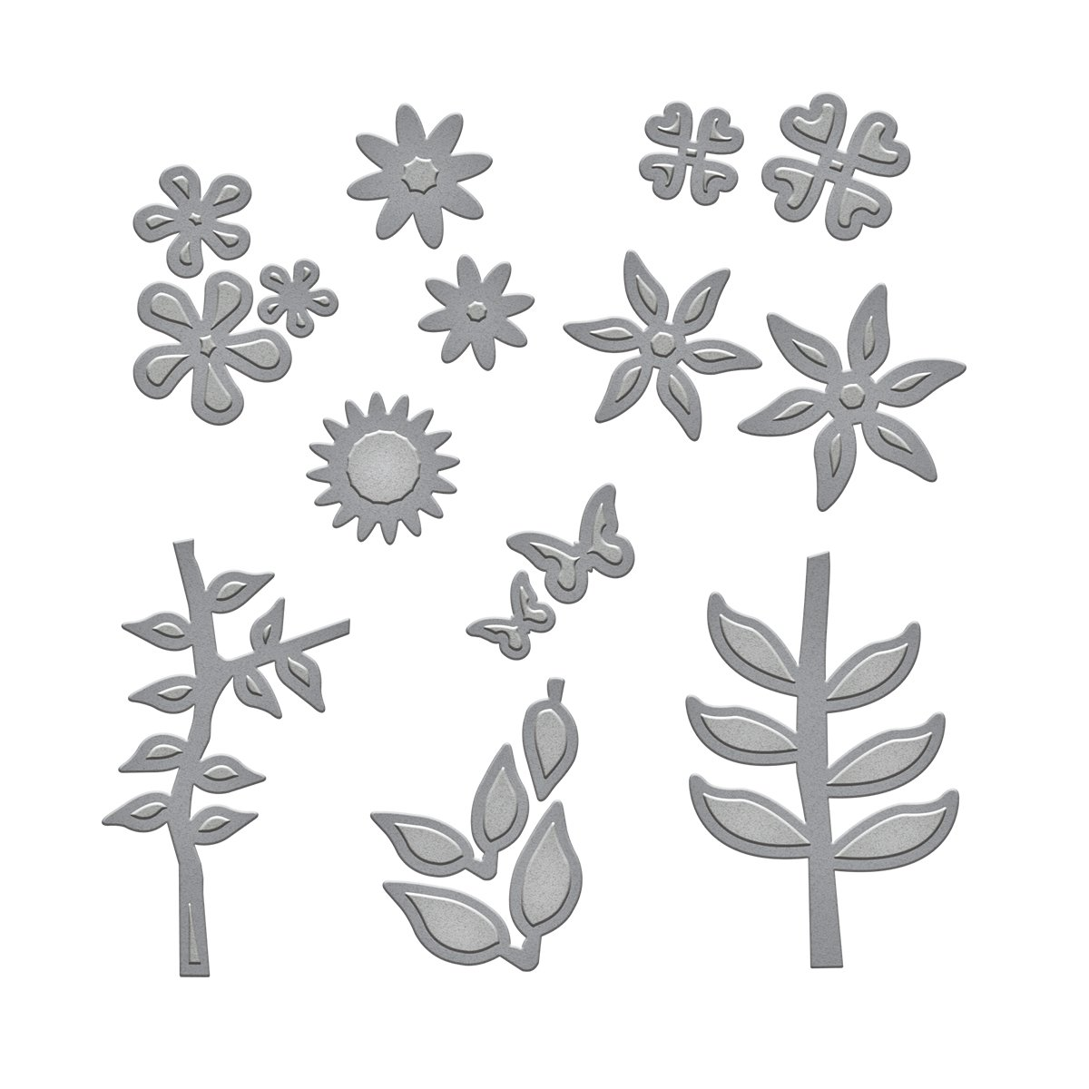 Spellbinders Marisa's Bouquet Etched/Wafer Thin Dies
