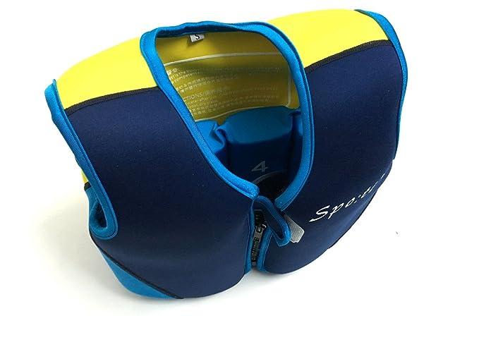 Titop Swim Vest para niños Infant Swim Trainer Chaleco para bebés Kids Float Vest Blue