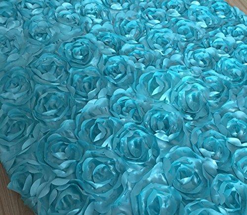 Aimeart Wedding Accessories 3d Rose Aisle Carpet Runner Tabl