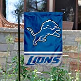 Detroit Lions Double Sided Garden Flag