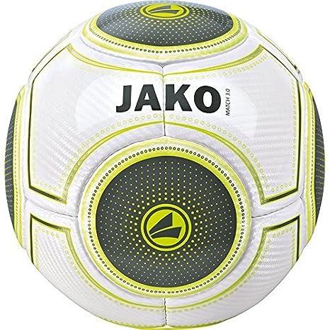jako pallone  Jako Pallone da calcio Match 3.0, colore: bianco/blu/nero:  ...