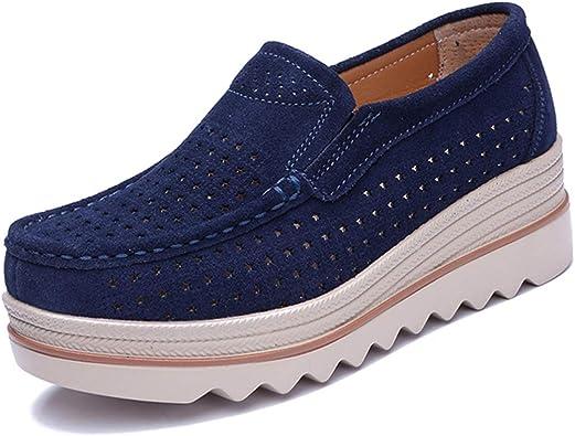 Zapatos Planos para Mujer Mocasines con Plataforma para