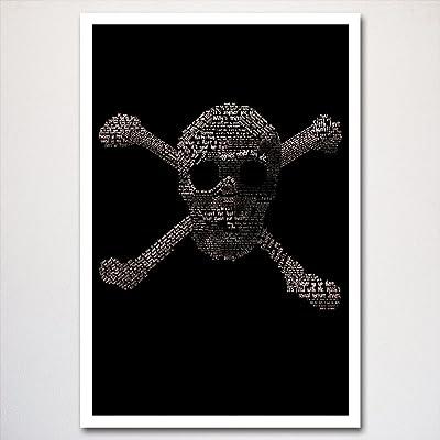 Goonies word art poster