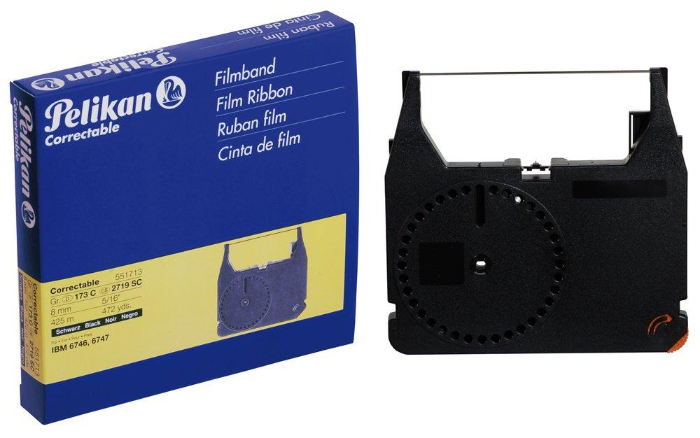 Pelikan - Cinta mecanográfica de corrección para IBM 6746 (173 C, 8 mm x 425 m), color negro: Amazon.es: Oficina y papelería