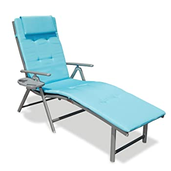 GOLDSUN Aluminum Folding Pool Lounge Chair