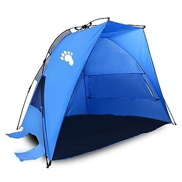 Bigfoot Outdoor u201cHalf Moonu201d Instant Pop-Up Family Beach Tent/Cabana u2013  sc 1 st  Amazon.com & Amazon.com: Bigfoot Outdoor u201cHalf Moonu201d Instant Pop-Up Family ...