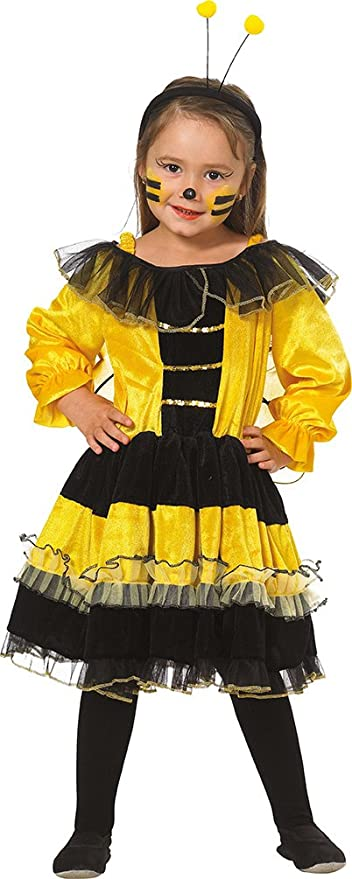 Mottoland Kinder Kostum Bienchen Biene Madchen Kleid Fasching Karneval