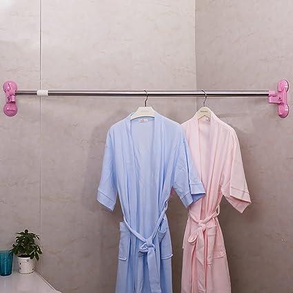 Amazon Baoyouni Straight Corner Shower Curtain Rod Bar