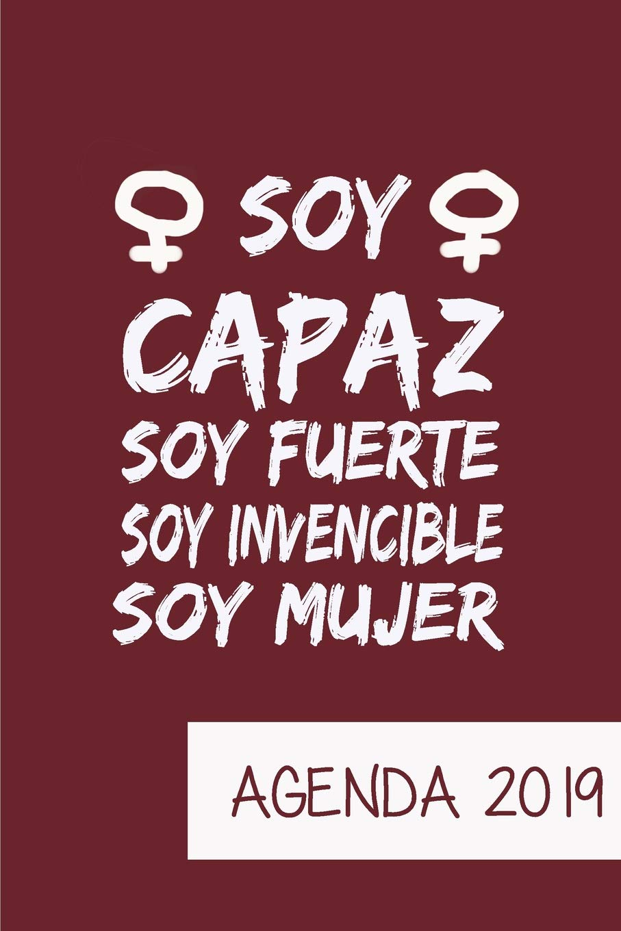 Agenda 2019 Soy Capaz Soy Fuerte Soy Invencible Soy Mujer ...