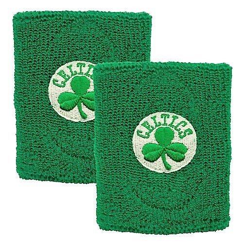 NBA Boston Celtics Wristband, Two Pack