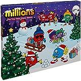 Millions Sweets Childrens Kids Christmas Xmas Advent Calendar 2017