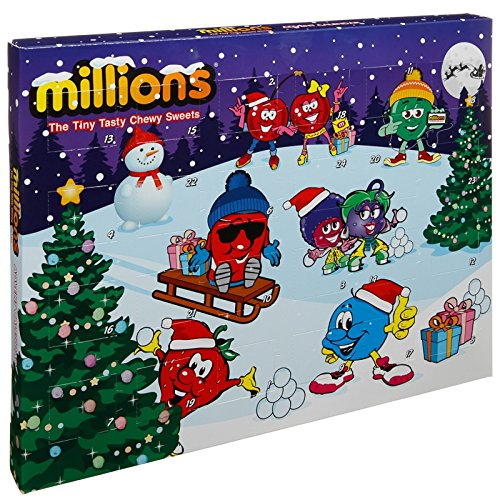 Millions Christmas Sweets Advent Calender