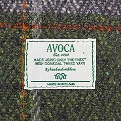Avoca Glenties Scarf: Green