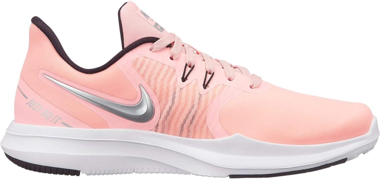 Rose (rose Tint Metallic argent-burg 600) Nike femmes Fitnessschuh in-Season TR 8, Chaussures de Fitness Femme 42 EU