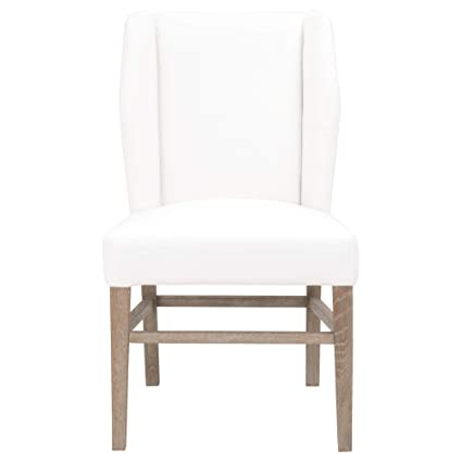Pleasing Amazon Com Benzara Bm185216 Wooden Dining Chair With Wing Pabps2019 Chair Design Images Pabps2019Com