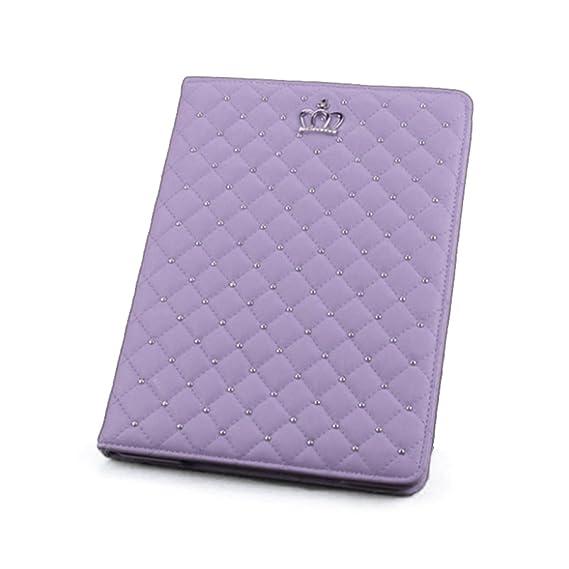 Tablet PC Hüllen Einfarbig Unifarben Kaiserkrone Inclusive Vintage Faux Leder Basic Hüllen