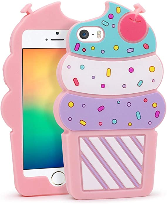 Cute Silicone case for Iphone 5/5s/5c