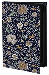 Keka Classic - Funda rígida tipo libro para Samsung Galaxy S3 (diseño de flores y animales de jacqueline Colley)