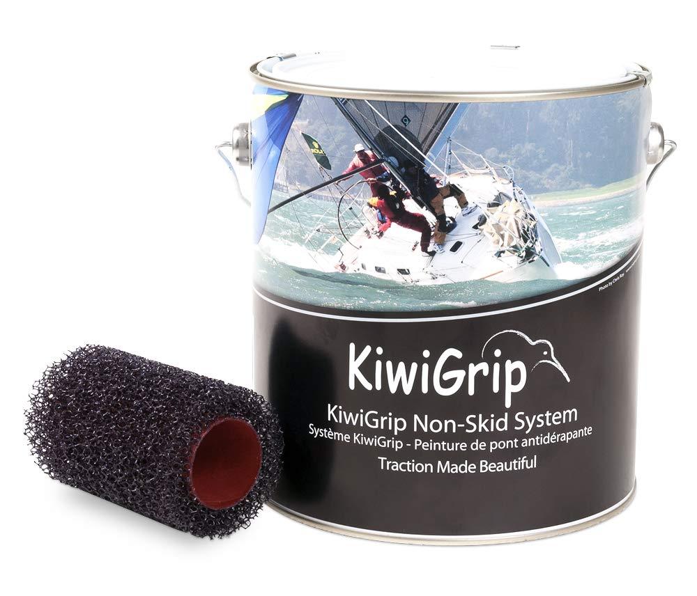 KiwiGrip Pittura Antiscivolo Rullo Applicatore, Bianco 4L