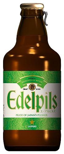 [EC限定]サッポロ エーデルピルス 瓶 305ml×5本セット(グラス付き)