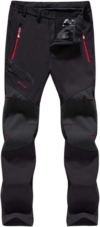 LHHMZ Pantalones de Senderismo Hombre Pantalones para Caminar Transpirables al Aire Libre Pantalones Casuales de Escalada a Prueba de Viento de Secado rápido